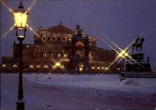 Dresden Sachsen DDR Postkarte Semperoper Oper Farb-Aufnahme von Dieter Krull