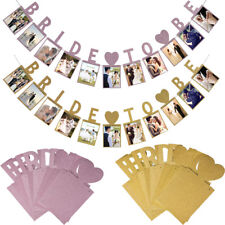 Wedding Engagement Bunting Banner Garland Photo Props Party Hanging Decorations