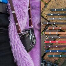 """Die 4829cmLeiter """" Leder Kamera Gurt - 115cm - Italienische Braun"""
