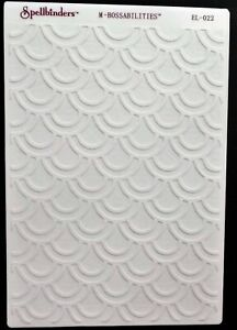 "SPELLBINDERS M-BOSSABILITIES 2 IN 1 EMBOSSING FOLDER EL-022 ORIENTAL  5"" X 7"""