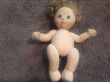 My Child Doll Blonde Yellow Hair Green Eyes Mattel