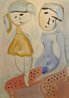 """Pinocchio: oil painting on canvas panel (19"""" x 27"""")"""