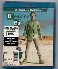 Breaking Bad The Complete First Season 1 Blu-ray Disc 2010 2-Disc Set UNOPENED!