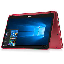 """Brand New Dell Inspiron 11 3168 11.6"""" Touchscreen 2-in-1 Windows 10 Laptop N3060"""