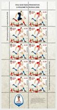 CROATIA 2018 FIFA WORLD CUP FINAL IN RUSSIA FULL SHEET MNH