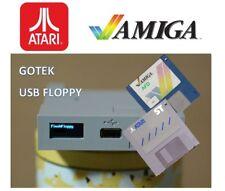 Amiga Atari Schneider USB Gotek Floppy Diskettenlaufwerk Emulator OLED Sound