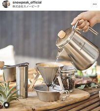 Snow Peak Field Barista Kettle CS-115 coffee Cafe tools Outdoor Camp Japan