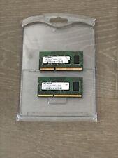 2 Elpida 1GB 2Rx16PC3-8500S-7-10-AP Laptop Notebook RAM Memory Cards