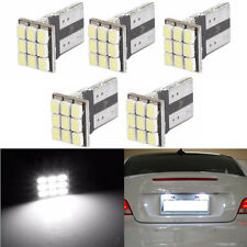 5X T10 W5W 1206 9SMD Car LED Canbus Auto License Plate Light Instrument Lamp