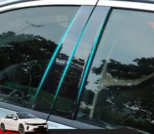 6pcs Bright Black ABS Door Window Pillar Post Cover Protect For Kia K5 2021-24