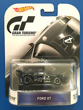 2016 Hot Wheels Retro Entertainment GRAN TURISMO 2005 FORD GT LM mint on card