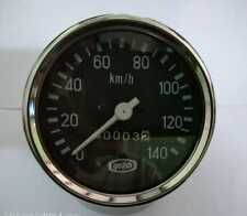 140 Km/h Brand new Yezdi Speedometer Black face chrome
