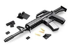 LEGO® Compatible Buildable M16 Rifle, 524 piece brick set