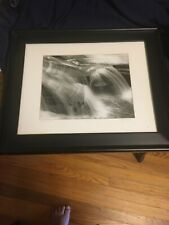 "17x14 Cool Photo""water or clouds"" Framed, Matted, Signed &numbered"