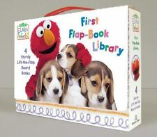 Elmo's World: First Flap-Book Library (Sesame Street) (Board Book)