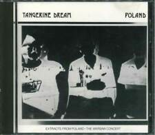"""o TANGERINE DREAM """"Poland (Extracts From """"The Warsaw Concert"""") CD"""