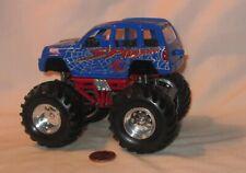 """5"""" Spiderman Chrysler Liberty Jeep Mega Monster Jam, Pull Back Action"""