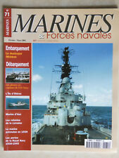 REVUE MARINES & FORCES NAVALES N°71 - DESTROYER MÖLDERS - L'ILE D'OLÉRON - NAVY