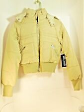 Platinum Brand Jacket Size Small Tan Color Hooded coat  brand new with tags