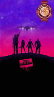 GUARDIANS OF THE GALAXY GOTG ARTWORK ART CHARATERS WALL PRINT PREMIUM POSTER