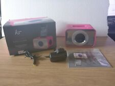 kitsound Pink Clock Dock / Radio Alarm iPod & iPhone