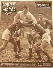 Le Miroir des Sports n°503 bis - 1955 - Rugby Jean Prat à Twickenham - Bozon