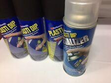 Performix Plasti Dip Spray cans. SEMI GLOSS METALLIC BLACK Tinge of Silver Flake