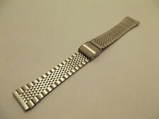 bracciale acciaio mod. casio ansa dritta 12 mm cinturini stainless steel orologi