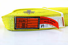 Ee2-902 X25Ft Nylon Lifting Sling Strap 2 Inch 2 Ply 25 Foot Usa Made