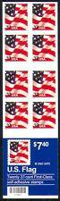 USA 2002 National Flags/Stars & Stripes 20v bklt n29435