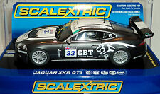 SCALEXTRIC C2978 JAGUAR XKR GT3 APEX RACING TEAM WORKING LIGHTS & DPR READY 1/32