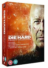 Die Hard: Legacy Collection Films 1, 2, 3, 4 & 5 DVD Box Set A Good Day to Die