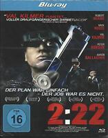 2:22 [Blu-ray]  Peter Dobson, Val Kilmer, Robert Miano   Neu!
