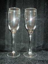 Wedding Champagne Flute Glasses ~ Set of 2 ~ New in Box