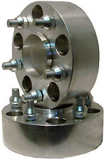 """Aluminum ADAPTER SPACER 5/5 to 5/5 Bolt Pattern Circle 2"""" Thick Hub Centric"""