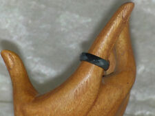 Hämatit Ring facettiert 6 mm Blutstein Bandring Steinring verschiedene Größen