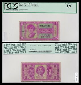 Series 541 5c Replacement Note! PCGS Graded