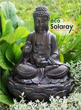 Anya Buddha Solar Power Water Feature Fountain Cascade Outdoor Garden Patio