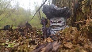 Mushroom Fairy Shaman Wizard Froud Monster Curiosity Oddity Figurine Sculpture