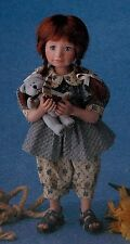 Boyds Bears Yesterday's Child, Heather, Gusty, Sailboat, #4824 NIB 12 in