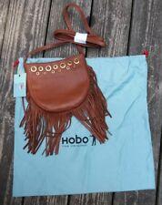 Hobo the Original Leather Whisper Brandy Crossbody Purse Bag NWT Dust Bag Inc5