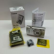 Canon PowerShot ELPH 180 20.0 MP Digital Camera SILVER (Charger + Battery) E1300