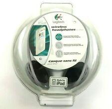 Nuevo Logitech Inalámbrico Auriculares para Ipod Modelo (980397-0403) Largo Gama