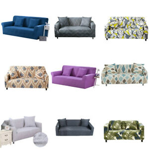 1 2 3 4 Seater Stretch Sofa Cover Slipcover All-Inclusive Couch Cover Home House