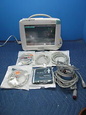 Philips MP50 IntelliVue Color Patient Anesthesia Monitor + M3001A M8004A WARANTY