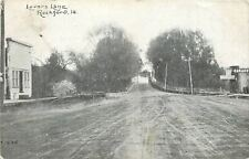 Rockford Iowa~Clark & Smith Machine Shop~Garage~Lovers Lane Bridge~1910