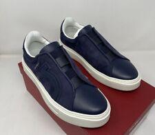 Salvatore Ferragamo Tasko Mens Slip On Sneakers Size 8