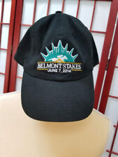 BELMONT STAKES June 7 2014 Triple Crown Horse Race Black Strapback Hat