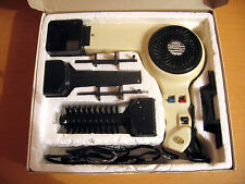 Vintage Hair Dryer DIANA Compact PRO with Attachments in BOX Hairdryer