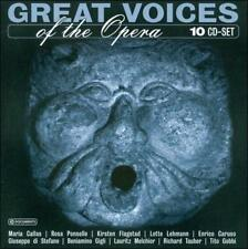 Great Voices of the Opera (CD, Jul-2005, Wallet) - 10CD-BOX NEW